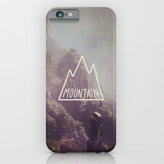 Mountain Lettering Slim Case iPhone 6s
