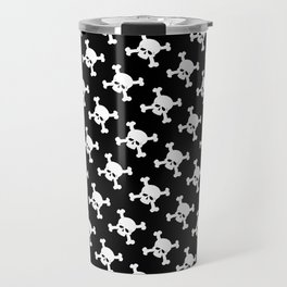Skull Crossbones Symbol Travel Mug