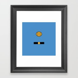 Captain Planet Framed Art Print