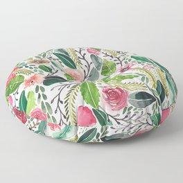 Whimsical Garden Floor Pillow