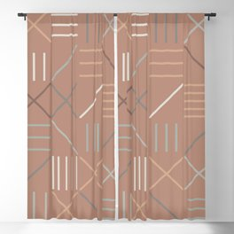 Geometric Shapes 07 Blackout Curtain