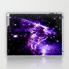 Monkey Head Nebula Purple Laptop & iPad Skin
