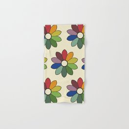Flower pattern based on James Ward's Chromatic Circle Hand & Bath Towel