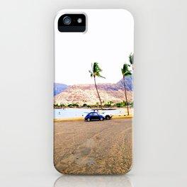 old school hawaii iPhone Case