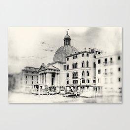 Venice - Study 4 Canvas Print