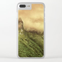 Corvus Peak Clear iPhone Case