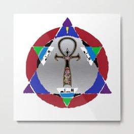 D3T Artsy Logo Metal Print