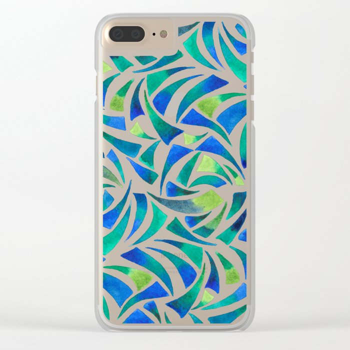 Sea Glass Clear iPhone Case