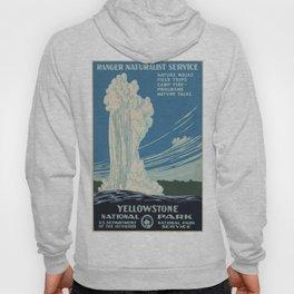 Vintage poster - Yellowstone Hoody