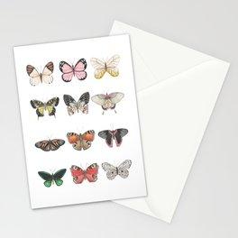 Butterfly Art, Farmhouse nursery decor, Girl's Room Decor, Butterfly Wall Art, Butterfly Art Set Stationery Cards