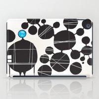 robot iPad Cases featuring robot by alex eben meyer