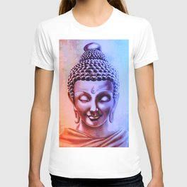 Gautama Buddha Abstract T-shirt