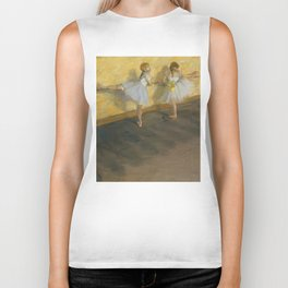 "Edgar Degas ""Dancers Practicing at the Barre"" Biker Tank"