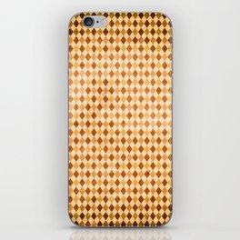 RETRO DIAMONDS iPhone Skin
