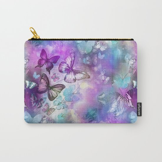 Butterflies Dreaming Carry-All Pouch