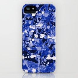 Los Lobos Locos Blue iPhone Case