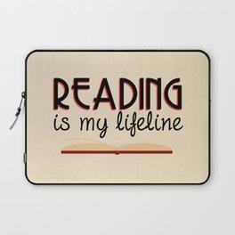 Reading is my lifeline Laptop Sleeve
