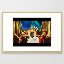 Kendrick Krist Uno Framed Art Print