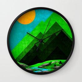 Sunny Day G1 Wall Clock