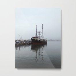 Galilee Fishing Boat Metal Print