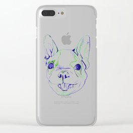 French Bulldog Puppy Clear iPhone Case