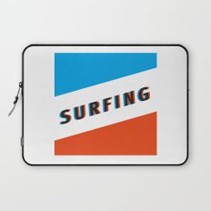 SURFING 3D - Square Laptop Sleeve