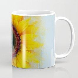 Sunflower Painting Coffee Mug