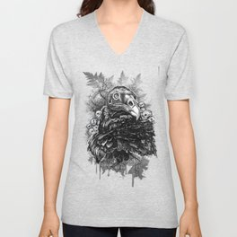 Vulture and Pine Unisex V-Neck