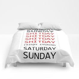 My week in short Comforters