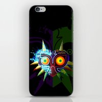 majoras mask iPhone & iPod Skins featuring Majora's Mask - Twili by brit eddy