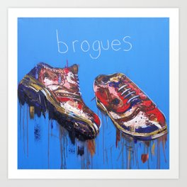 Brogues Art Print