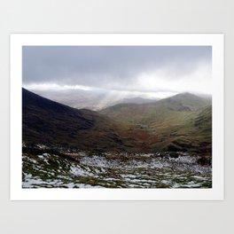 Mount Snowdon, Snowdonia, Wales Art Print