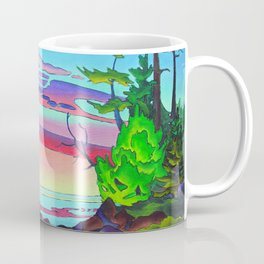 Pacific Pacific by Amanda Martinson Coffee Mug