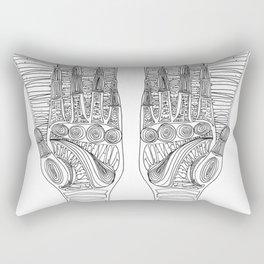 Hand guide Rectangular Pillow