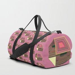 Pink Virtual House Duffle Bag