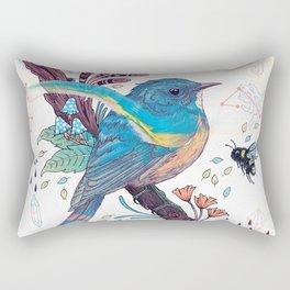 Bluetail Rectangular Pillow