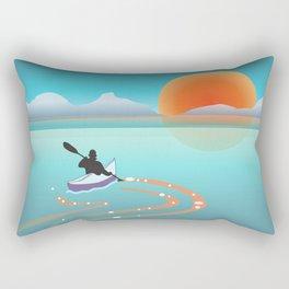 Exploring Crystal Cove Rectangular Pillow