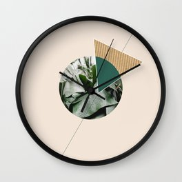 Tropical & Geometry Wall Clock
