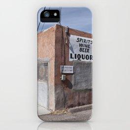 Liquor Store Española iPhone Case