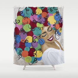 Radiant Smile Shower Curtain