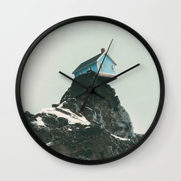 Vertical Limit Wall Clock