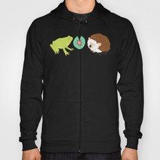 Hedgehog and Frog Hoody