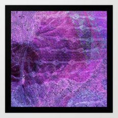 Spring Lace Art Print