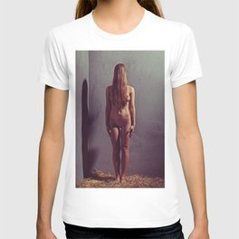 Nude Woman Just Standing T-shirt