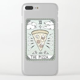 The Pizza Clear iPhone Case