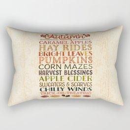 Autumn Fun Rectangular Pillow