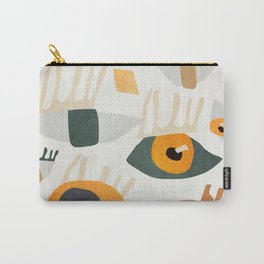 Abstract Art Eyes Carry-All Pouch