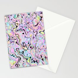 Marbled Pastel Stationery Cards
