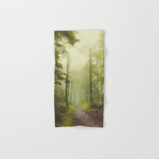 Long Forest Walk Hand & Bath Towel