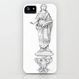 Unknown Woman iPhone Case